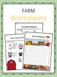 Farm Facts, Worksheets, History, Animals & More For Kids
