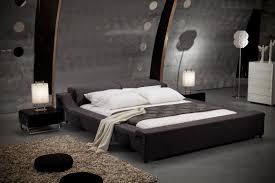 black modern platform bed. Platform Bed Board Black Modern