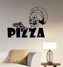 image is loading pizza logo wall sticker vinyl decal window sign  on business logo wall art with pizza logo wall sticker vinyl decal window sign art business