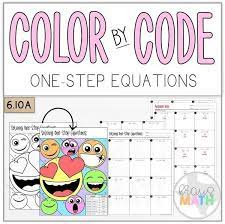 emoji solving one step equations teks