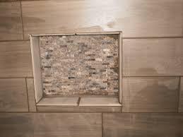 mosaic tile shower soap box
