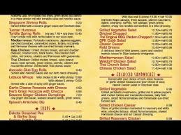 California Pizza Kitchen Menu   California Pizza Kitchen Menu And Prices    YouTube