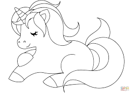 Coloring is a very useful hobby for kids. Cute Unicorn Coloring Page Free Printable Coloring Pages With Regard To Cute Unicor Unicorn Coloring Pages Kids Printable Coloring Pages Emoji Coloring Pages