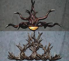 chandelier wiring kit whitetail deer antler chandelier used antler