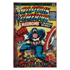 marvel captain america multi colored 5 ft x 7 ft indoor juvenile area rug 31070 the home depot