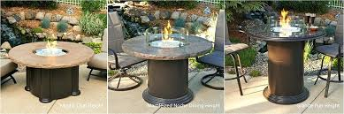 fire pit table marbleized colonial dining or pub height gas fire pit file 7