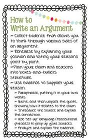 Argumentative Writing ppt   Grades         Forms          Awesome Anchor Charts For Teaching Writing