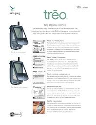 Palm Treo 180 series User's Manual ...