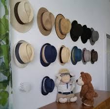 Hooks on The Wall Hat Rack Ideas