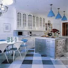 blue kitchen light fixtures