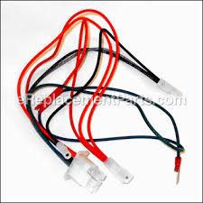 harness wiring [695050] for briggs and stratton lawn equipment Engine Wiring Harness Replacement at Bs Engines Wiring Harness