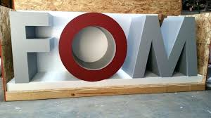 large painted foam stage letters giant letter blocks baby