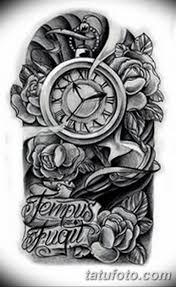 тату эскизы часы на руке мужские 09032019 016 Tattoo Sketches
