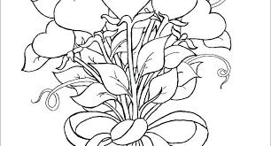 Flower Coloring Pages Printable Free Coloring Pages Of Flowers