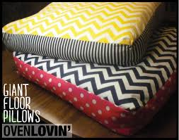 floor cushions for kids. Amazing Floor Pillows For Kids Ovenlovin DIY Giant Chevron Pretty Cushions