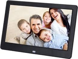 black digital photo frame 10inch hd tft lcd digital photo frame alarm clock mp4 player 227 7 in dubai uae pare s