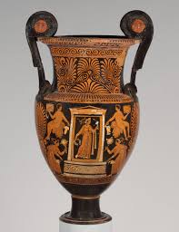 funerary vases in southern and sicily essay heilbrunn terracotta volute krater mixing bowl