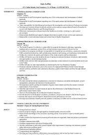 Sample Youth Program Coordinator Resume Sample Youth Program Coordinator Resume Example Danayaus 20