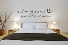 Bedroom Wall Quotes Impressive Bedroom Wall Decals For Couples Batchelor Resort Home Ideas