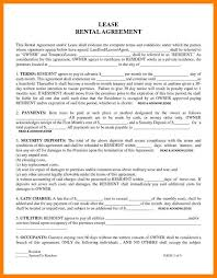7+ Free Lease Agreement Forms To Print | 952 Limos