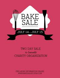 bake sale flyer templates bake sale flyer template free diy flyer free home design and