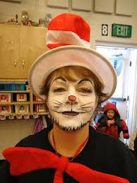 hat costume cat makeup tutorial 17 bästa bilder om dr suess face paint på lorax katter