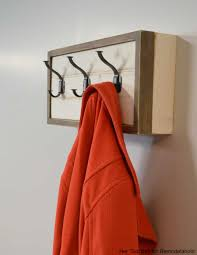 Build Your Own Coat Rack Remodelaholic Build a Wall Coat Rack with Hooks and Hidden Storage 59