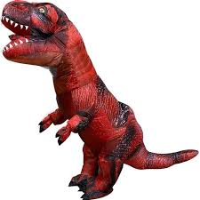 2020 的 Blow Up Costume Inflatable Red <b>T Rex Dinosaur</b> Costumes ...