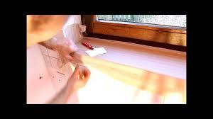 Fensterbänke Mit Holzoptik Holzdekorfolie Trocken Verkleben Youtube