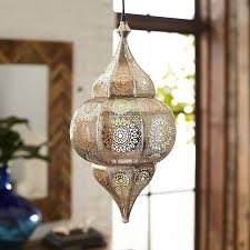 the mystique of a moroccan lantern is evident at first glow here we recreated