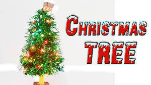 Christmas Craft How To Make A Christmas Tree Christmas Craft Ideas Youtube