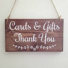 cards and gifts handmade wooden wedding sign