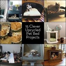 pet bed furniture. roundup 15 furniture turned pet bed projects