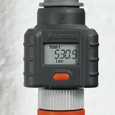 garden hose flow meter. Gardena Garden Hose Water Flow Meter