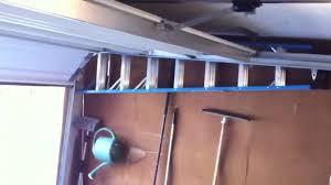 low clearance garage doorWayne Dalton Low Overhead Garage Door Rail Kit  YouTube