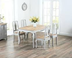 white country dining set shabby chic small table bench round 6 chairs