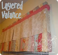 Layered Valance Â« Moda Bake Shop & Layered Valance Adamdwight.com