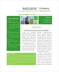 sample company newsletter sample company newsletters 5 documents in pdf