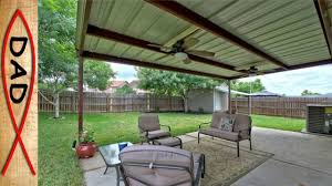 free standing patio covers metal. Patio Cover 20x12 Metal No Wood Free Standing Covers A