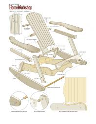 wooden rocking chair plans. Wooden Rocking Chair Plans W