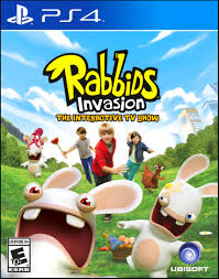 rabbids invasion sony playstation 4 video games ps4 for kids new play toy