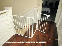 Child Safety Gates For Stairs Baby Gate For Irregular Stair Opening ...