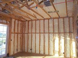 inspecting spray foam insulation