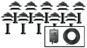 full image for site lighting voltage drop calculator path lights landscape yard light set fixture plastic