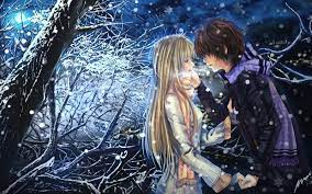 Free download anime boy girl couple in ...