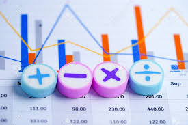 Investment Charts And Graphs Math Symbols Charts Graphs Spreadsheet Finance Banking Account