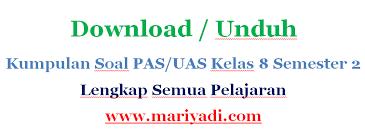 Berikut ini adalah soal ulangan tengah semester (uts) 2 bahasa dan sastra sunda kelas 1 sd terbaru berikut kunci jawaban. Download Soal Uas Bahasa Sunda Kelas 8 Semester 2 Kurikulum 2013 Mariyadi Com