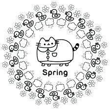 Printable Pusheen Coloring Book Pusheen Pusheen The Cat Free