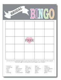 Wedding Bingo Words Wedding Shower Bingo Generator Bridal Template Download For