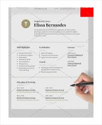 Sample Of Nursing Resume Classy 60 Nurse Resume Templates PDF DOC Free Premium Templates